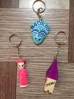 keychains for 50php!