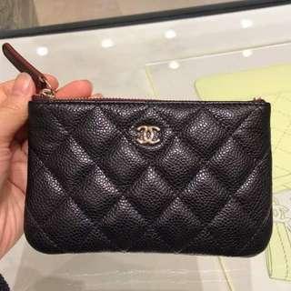 Authentic Chanel Classic Mini O Case