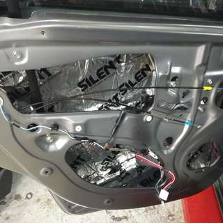 WHOLE CAR SOUND PROOFING - SILENT BRAND @car service