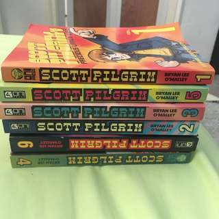 Scott pilgrim graphic novel