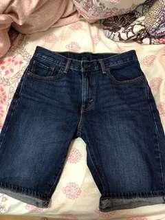 levi's 505 牛仔短褲