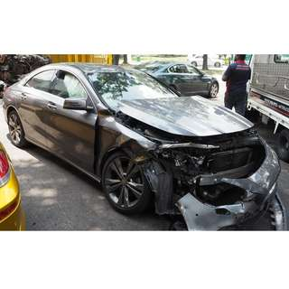 MERCEDES  W117 CLA180 2014 PARTS FOR SALE ( 07053)