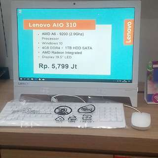 Cicilan Lenovo All In One 320 AMD A6