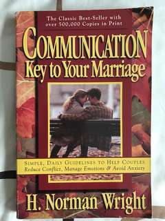 Communication: Key to Your Marriage: The Secret to True Happiness by H Norman Wright