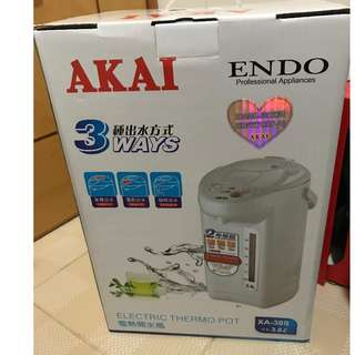 全新 Akai XA-38S 3.8公升電熱水壺