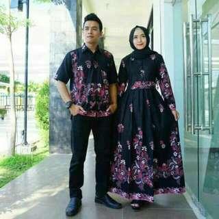 Gamis Batik Couple Pekalongan Spesial Ramadhan