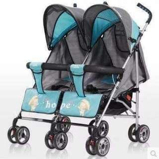 Hope Twin Stroller