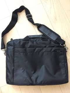 Asus black laptop bag