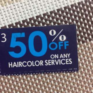 David's Salon 50% OFF Coupon