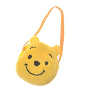 Japan Disneystore Disney Store Pooh Mini Pouch for Plush Doll Toy