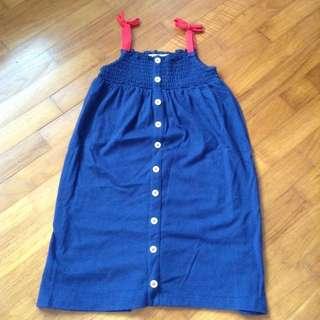 Marks And Spencer Blue Dress