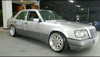Mercedes benz 300E thn 90 manual