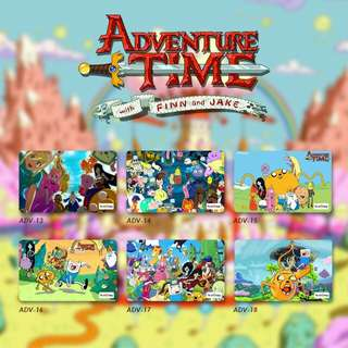 Custom E-money Flazz dan Brizzi card design Adventure Time 3