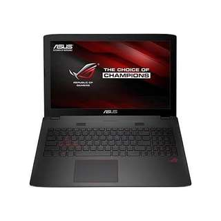 Kredit Laptop ASUS ROG GL553VD FY380T ready Kamera PS4 HP