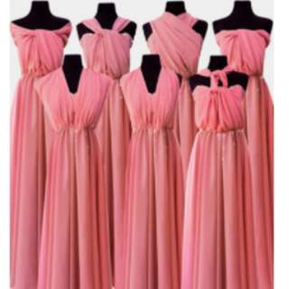 PINK LONG GOWN - Gown For Rent