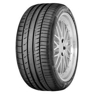 """19"""" Continental ContiSportContact 5 CSC5 Tyres"""