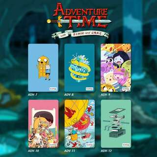 Custom E-money Flazz dan Brizzi card design Adventure Time 2