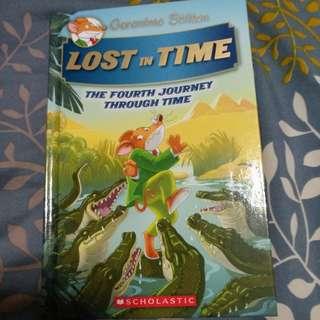 Geronimo Stilton Lost in Time Book 4