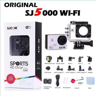 SJCAM SJ5000 WIFI 100% ORIGINAL WATERPROOF CAMERA