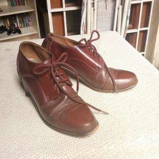Genuine Female Leather Shoes