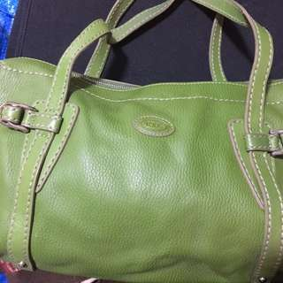 TODS Leather Bag 小手挽袋