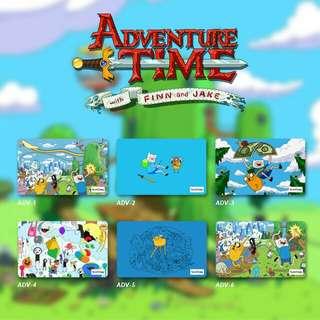 Custom E-money Flazz dan Brizzi card design Adventure Time 1
