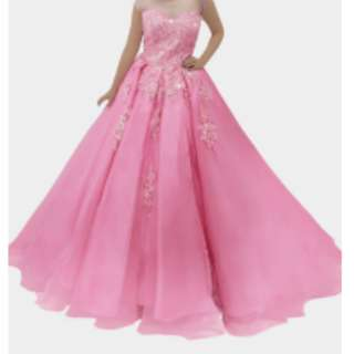 PINK GOWN (CARRIE) - Gown For Rent