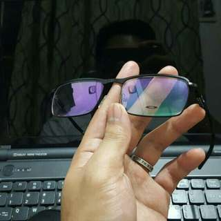 Oakley  (made of metal and aluminum)