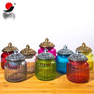 Glass Jar for candy/ cookie