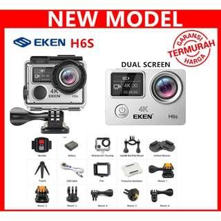 EKEN H6S Sports Action Camera EIS 4K Wifi 170 Degree