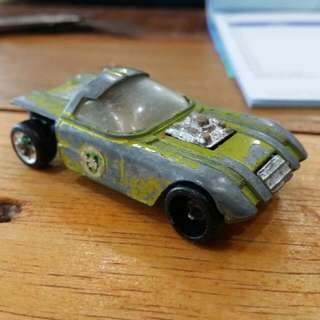 Vintage Dyna-Wheels Car Toy 1983