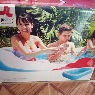 Inflatable Pool And Electric Pump