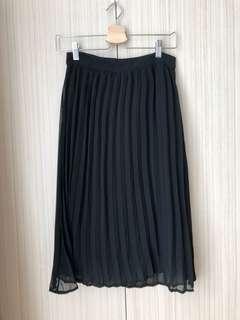 Cotton On Black Midi Skirt