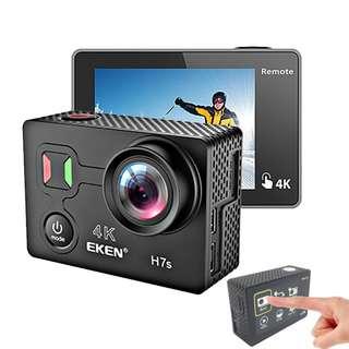 EKEN H7S Touch Screen 4K Ultra HD Wifi Sports Action Camera Underwater Cam