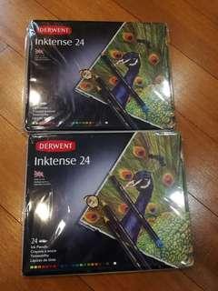 Inktense 24 Colour pencil professional (per box)