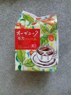 日本直送:Organic drip coffee 有機掛耳包咖啡10包裝