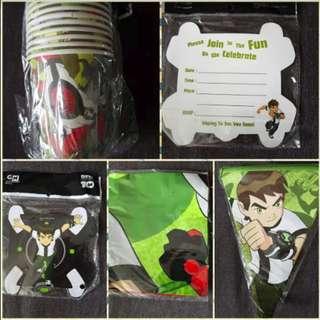 BNIP Ben 10 Party Goodies - Set 2
