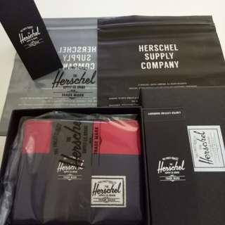 [100% AUTHENTIC] Herschel Navy Red Roy Wallet