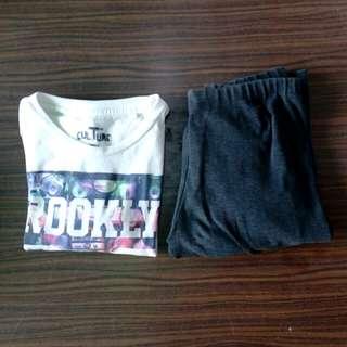 Tee Culture Shirt + Leggings bundle