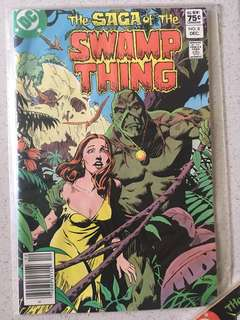 DC Swamp Thing #8 1982