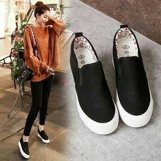Korean Style Hidden Wedge Shoes