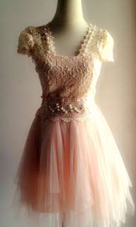 Tutu brokat party dress