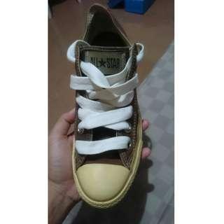 Sepatu Converse All Star Original Limeted Edition Warna Cokelat