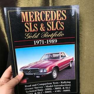 Mercedes SL SLC collectors book