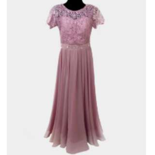 PINK GOWN (VIVIAN) - Gown For Rent