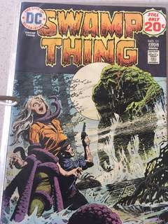 DC Swamp Thing #11 1983