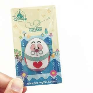 全新 迪士尼 奇妙處處通 復活節 白兔先生 花旦 徽章