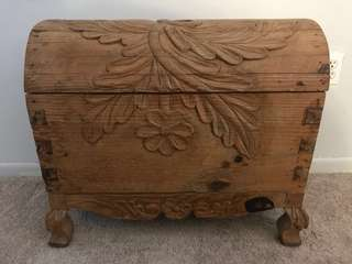 Mexican wood trunk