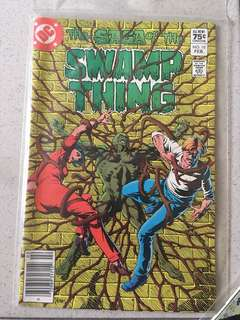 DC Swamp Thing #10 1983