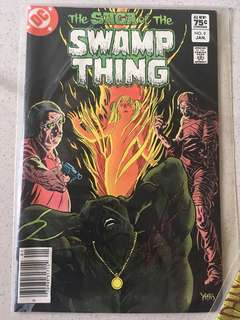 DC Swamp Thing #9 1983